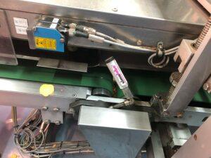 Смазывание подшипников приводного ролика конвейерной ленты при производстве чипсов (сухариков).
