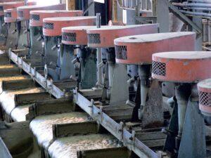 Автоматическая смазка при флотационном обогащении с помощью simalube®