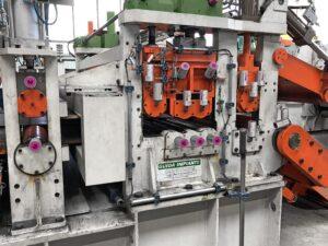 Постоянная смазка валков для производства листов с помощью автоматического лубрикатора simalube 125 мл.